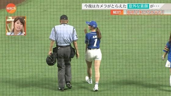 稲村亜美 ショートパンツ姿のむっちり太ももキャプ 画像30枚 16