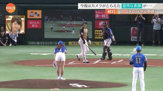 稲村亜美 ショートパンツ姿のむっちり太ももキャプ 画像30枚 20