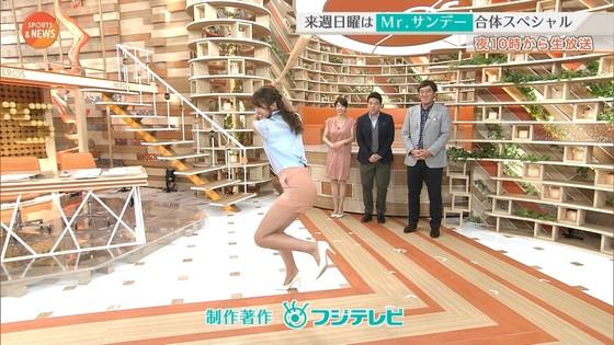 稲村亜美 ショートパンツ姿のむっちり太ももキャプ 画像30枚 29