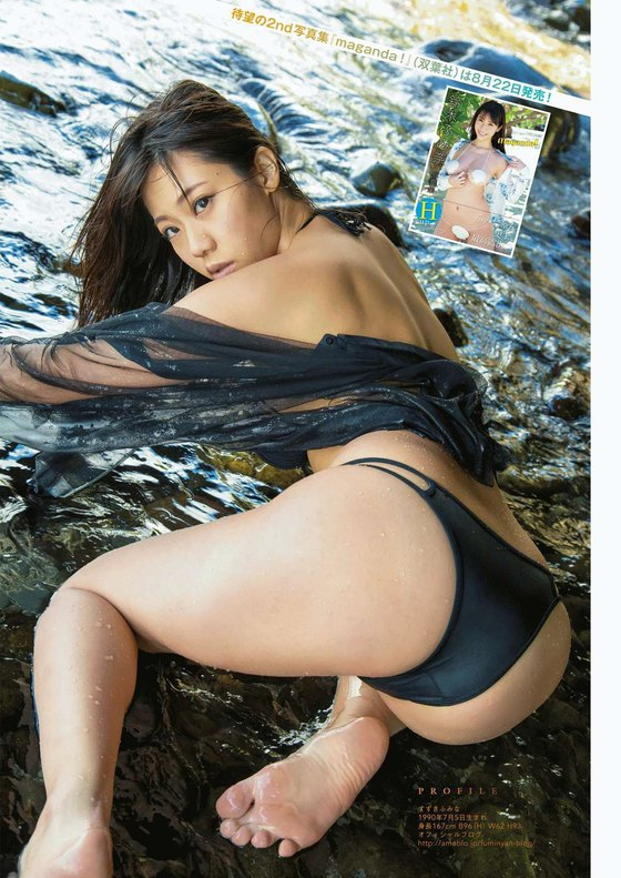 鈴木ふみ奈 withのHカップハミ乳&巨尻食い込みキャプ 画像60枚 60