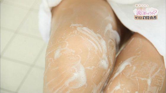 倉持由香 温泉入浴番組のバスタオル巨尻割れ目透けキャプ 画像31枚 11