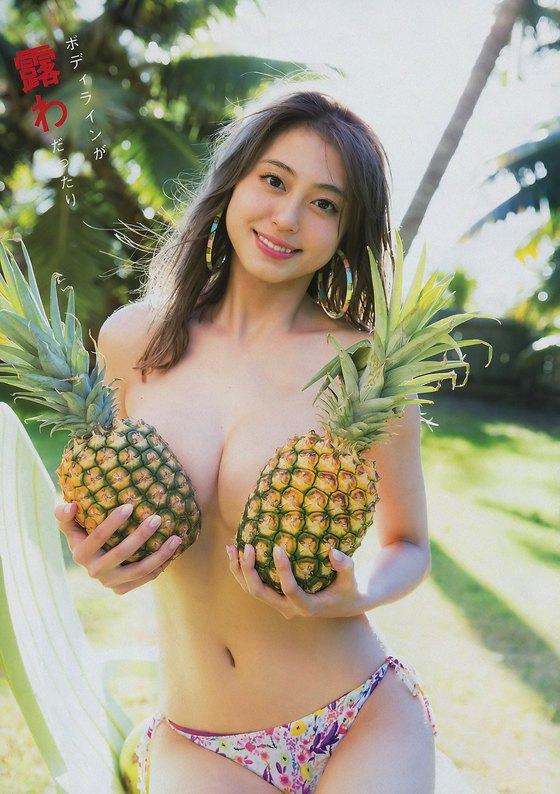大川藍 ヤングマガジンの写真集iamai先行グラビア 画像24枚 5
