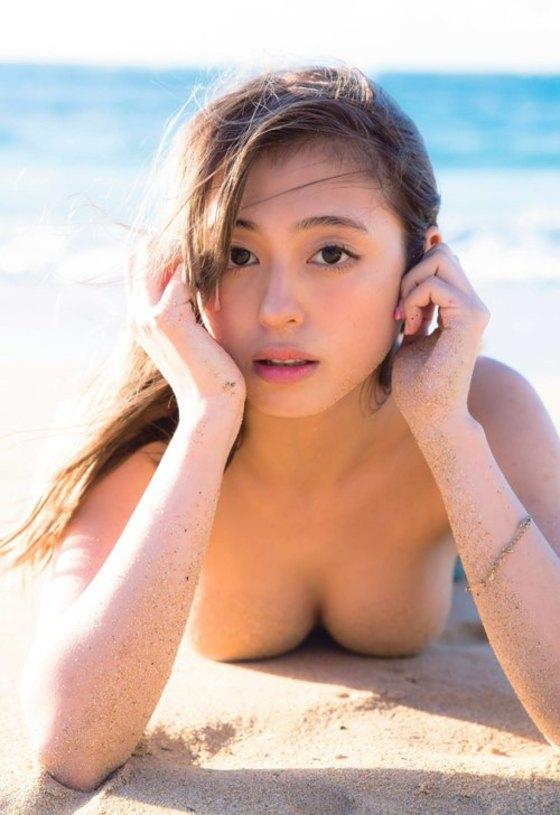 大川藍 ヤングマガジンの写真集iamai先行グラビア 画像24枚 9