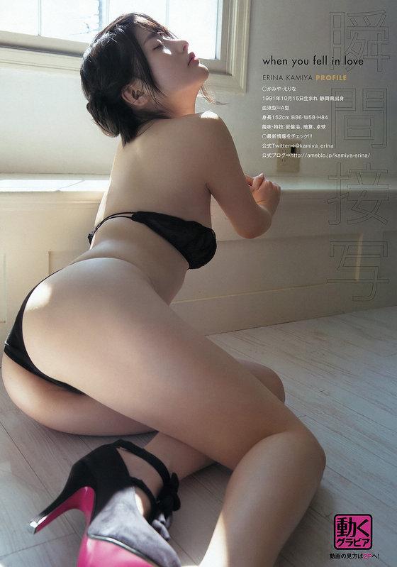 神谷えりな DVD甘神様のソフマップ販促Gカップ爆乳 画像31枚 21
