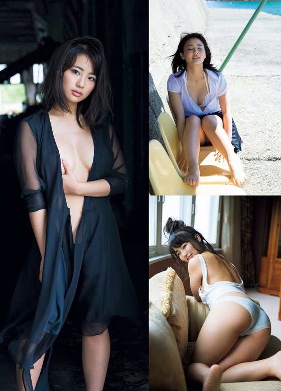 平嶋夏海 フライデー袋とじの写真集ナツコイ未公開ショット 画像32枚 2