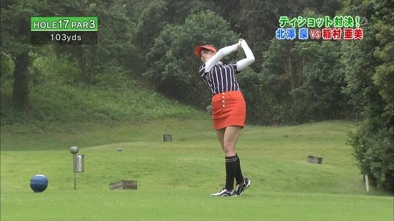 稲村亜美 ゴルフの真髄のムチムチ太もも&お尻キャプ 画像30枚 13