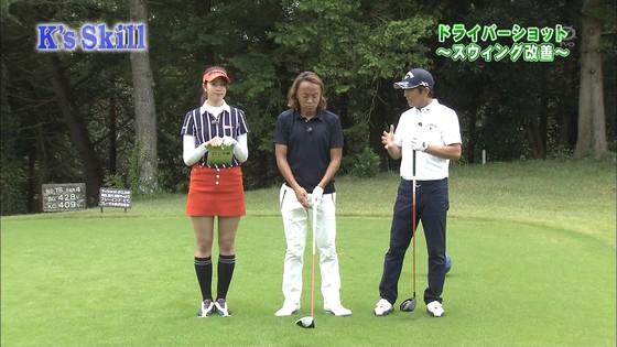 稲村亜美 ゴルフの真髄のムチムチ太もも&お尻キャプ 画像30枚 16