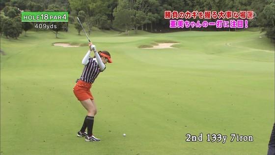 稲村亜美 ゴルフの真髄のムチムチ太もも&お尻キャプ 画像30枚 18
