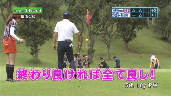 稲村亜美 ゴルフの真髄のムチムチ太もも&お尻キャプ 画像30枚 25