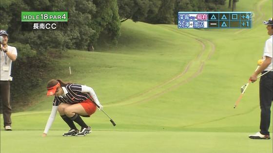 稲村亜美 ゴルフの真髄のムチムチ太もも&お尻キャプ 画像30枚 28