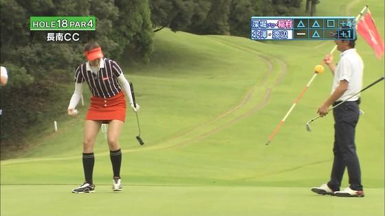 稲村亜美 ゴルフの真髄のムチムチ太もも&お尻キャプ 画像30枚 29