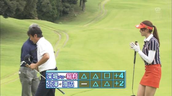 稲村亜美 ゴルフの真髄のムチムチ太もも&お尻キャプ 画像30枚 30