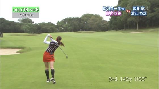 稲村亜美 ゴルフの真髄のムチムチ太もも&お尻キャプ 画像30枚 8