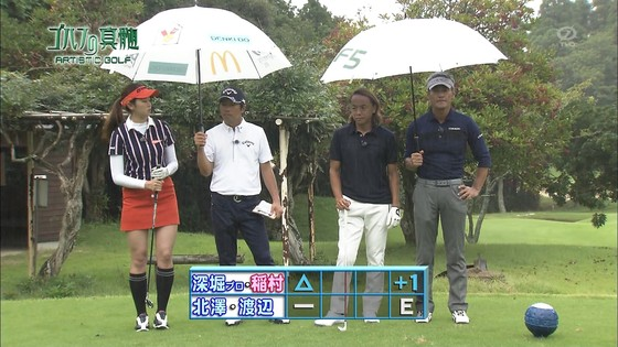 稲村亜美 ゴルフの真髄のムチムチ太もも&お尻キャプ 画像30枚 9