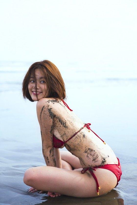 筧美和子 写真集先行Hカップ手ブラセミヌードグラビア 画像29枚 11