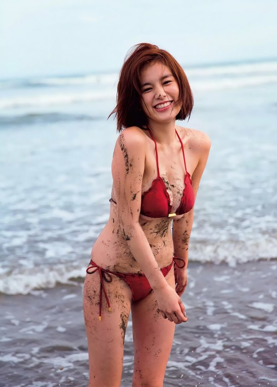 筧美和子 写真集先行Hカップ手ブラセミヌードグラビア 画像29枚 4