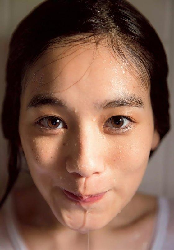 筧美和子 写真集先行Hカップ手ブラセミヌードグラビア 画像29枚 6