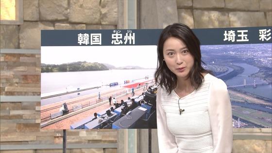 小川彩佳 Dカップ着衣おっぱいが素敵な報ステキャプ 画像28枚 16