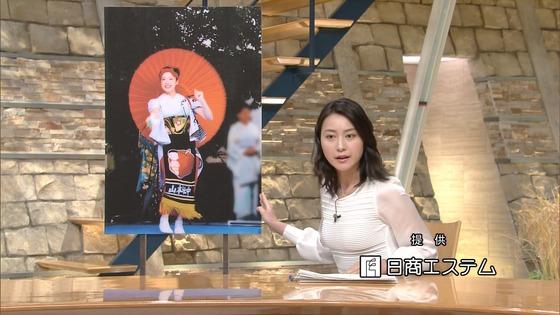 小川彩佳 Dカップ着衣おっぱいが素敵な報ステキャプ 画像28枚 23