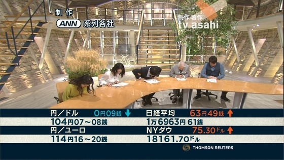 小川彩佳 Dカップ着衣おっぱいが素敵な報ステキャプ 画像28枚 28