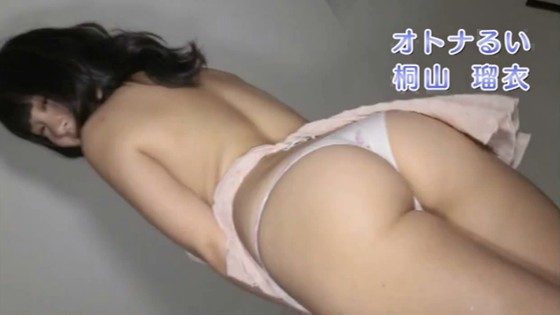桐山瑠衣 オトナるいの高画質Jカップ爆乳ハミ乳キャプ 画像29枚 26