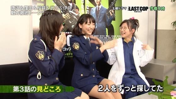 武田玲奈 ラストコップのミニスカ制服美脚キャプ 画像30枚 24