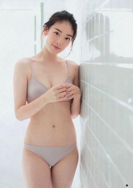 水上京香 週プレのCカップ水着谷間グラビア 画像21枚 1