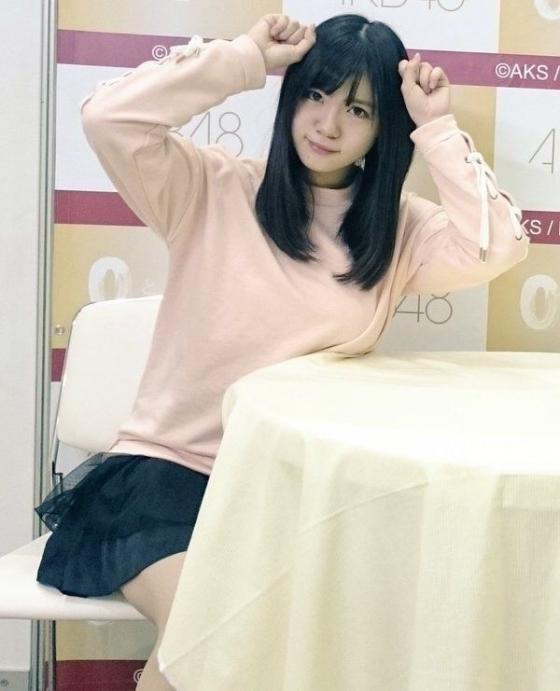 山口真帆 写メ会でパンチラを披露したNGT48の美少女 画像21枚 15