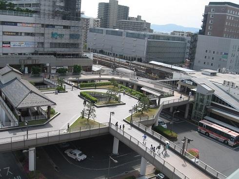 草津駅 全貌