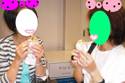 昭和レトロ展 食べてます