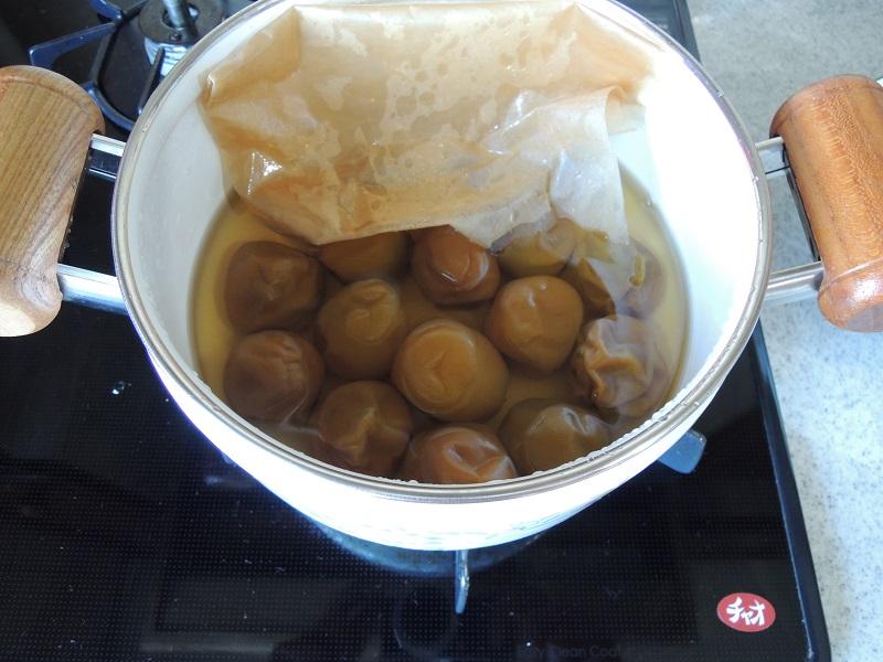 梅の甘露煮  完成