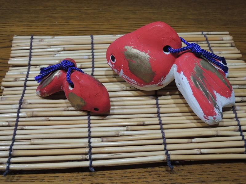 金魚の土鈴