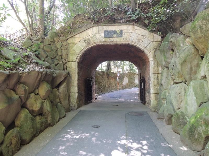 琅玕洞 トンネル