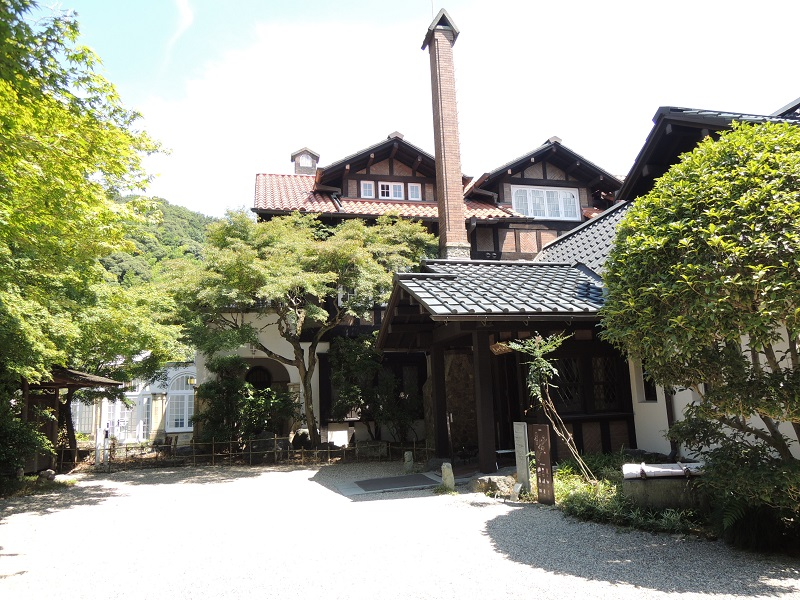 山崎山荘 全景
