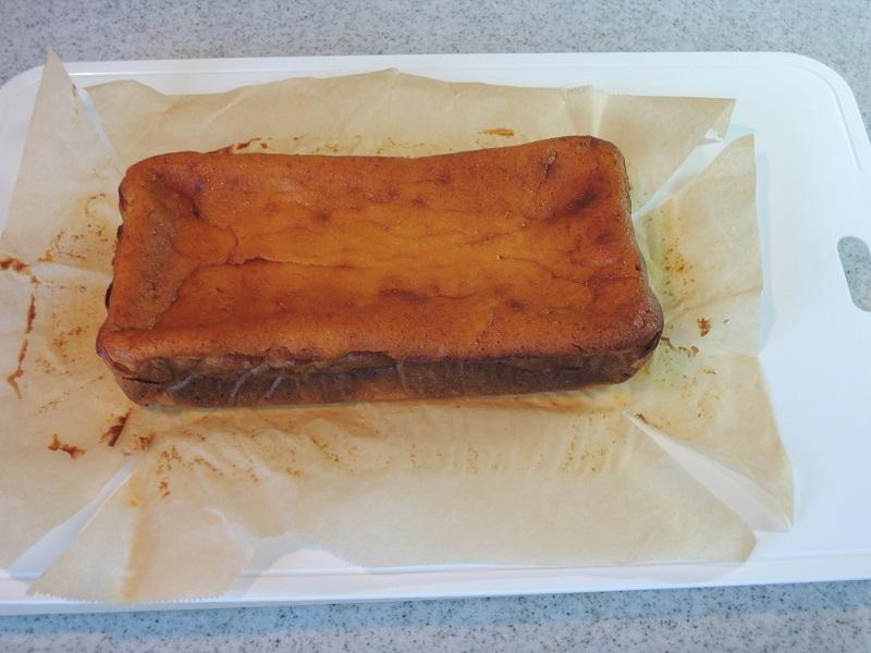 1日置いたケーキ