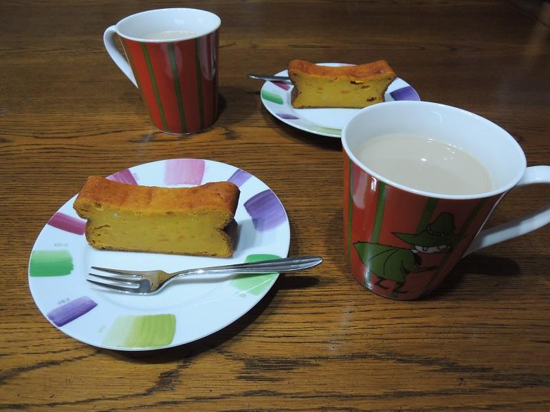 紅茶と一緒に