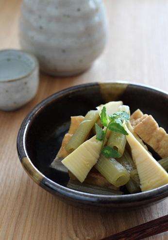筍とふきと厚揚げの煮物2