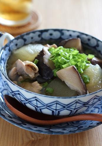 椎茸と冬瓜のスープ煮