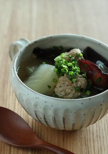 冬瓜と肉団子のスープ煮