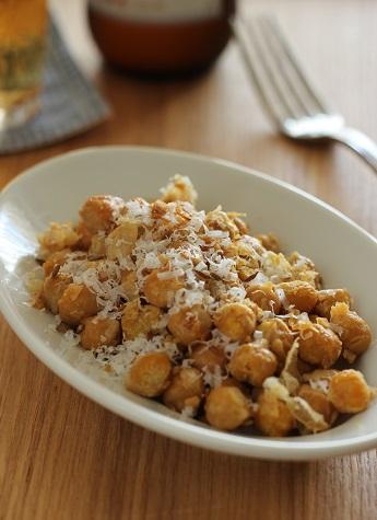 ひよこ豆のスパイスチーズ