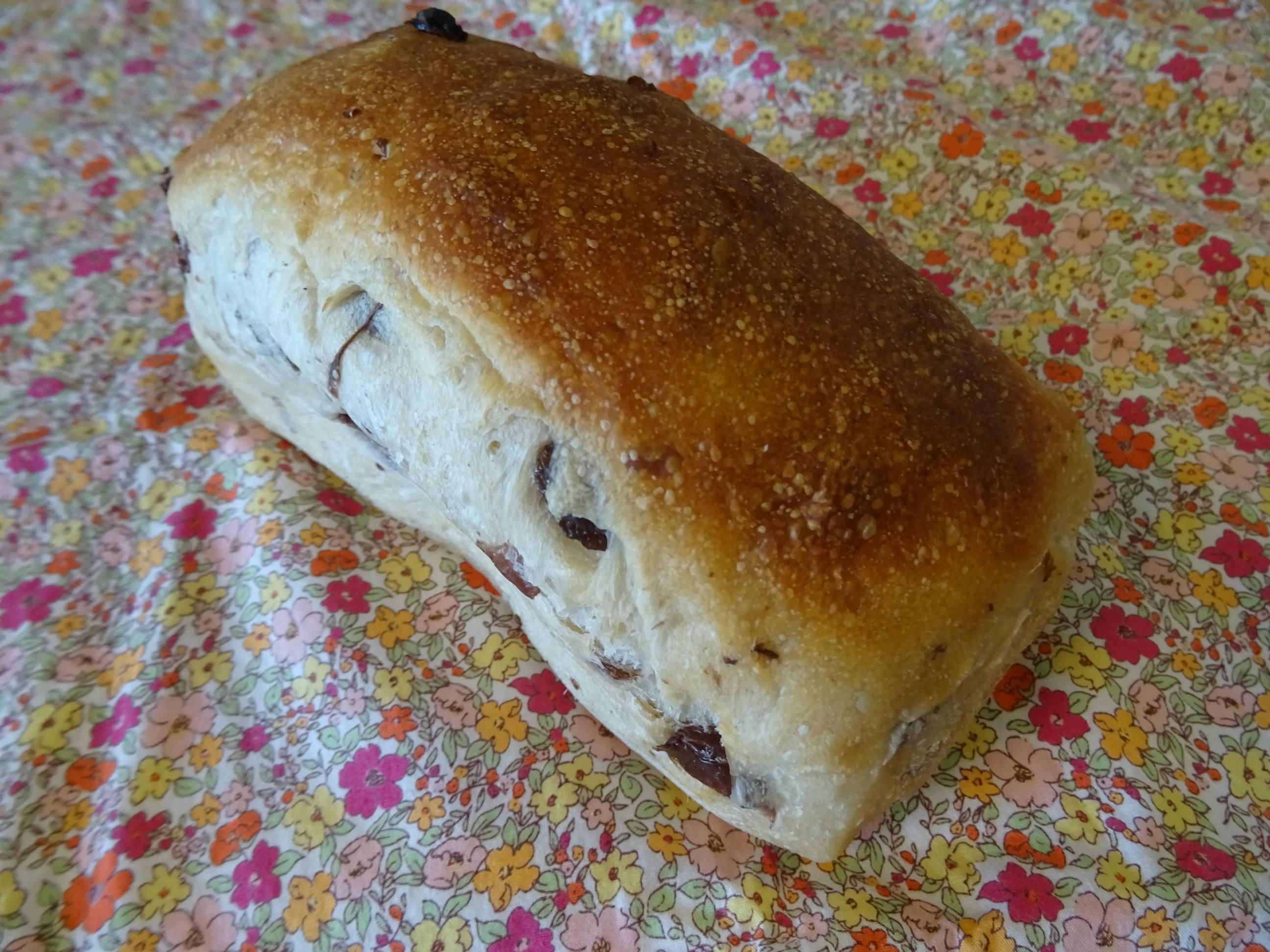 レーズンミニ食パン1