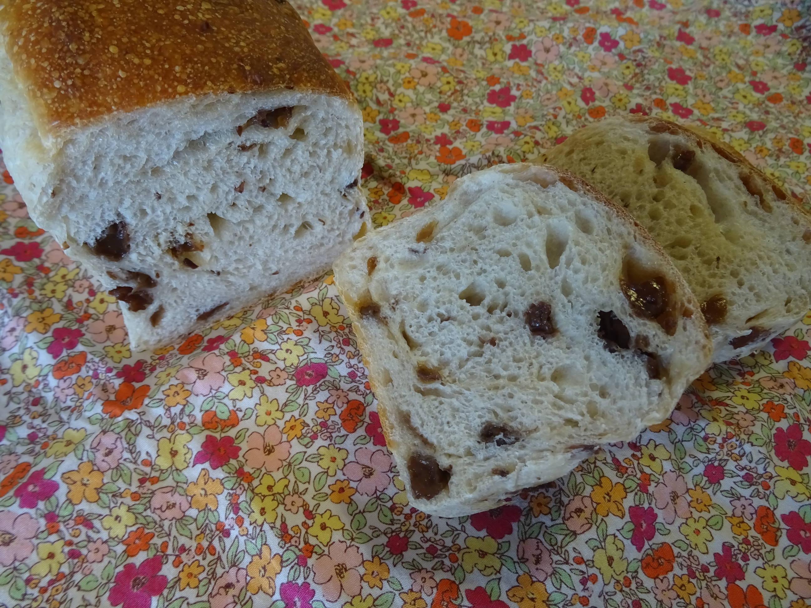 レーズンミニ食パン2