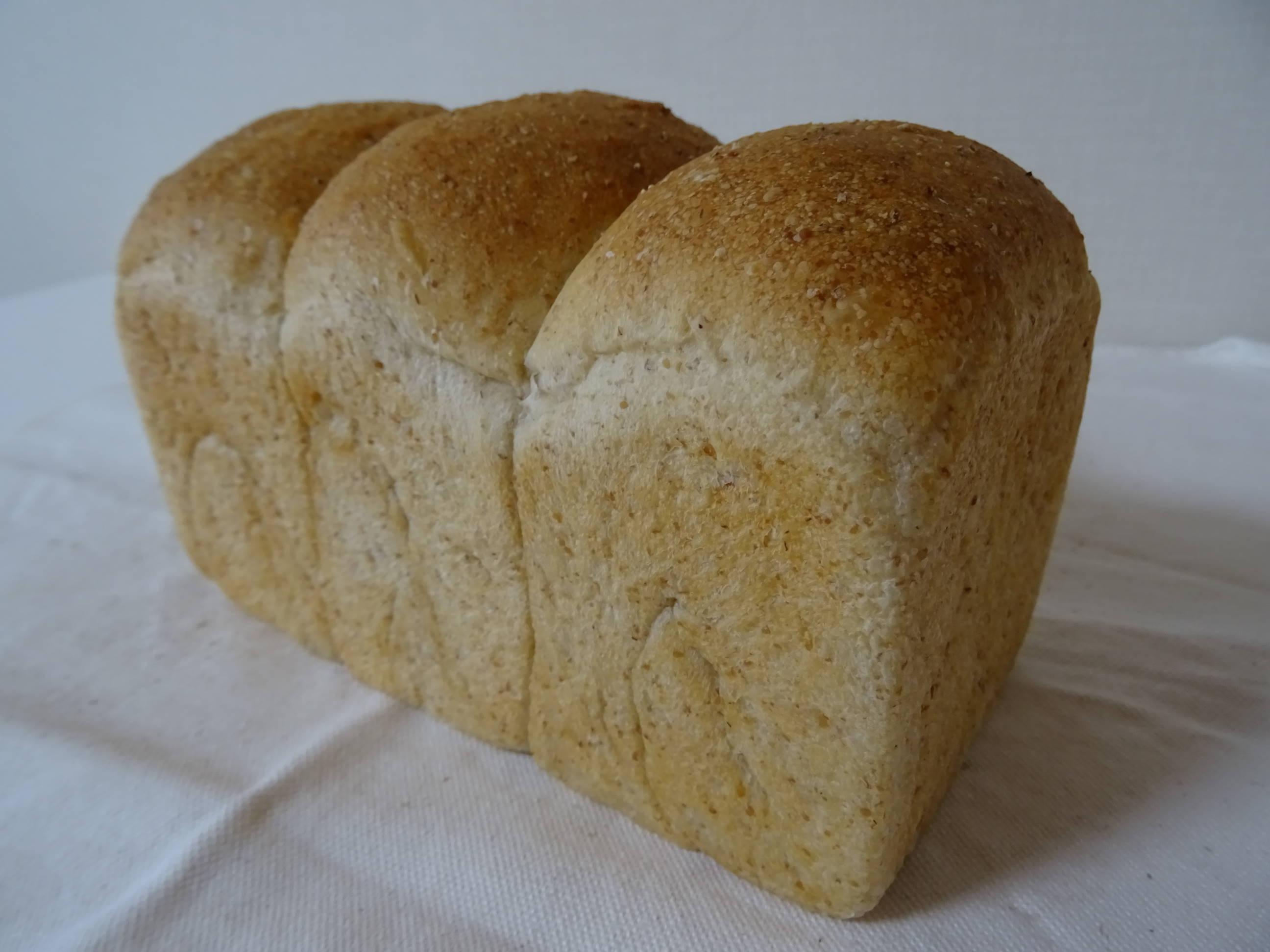 酵母の山食パン1