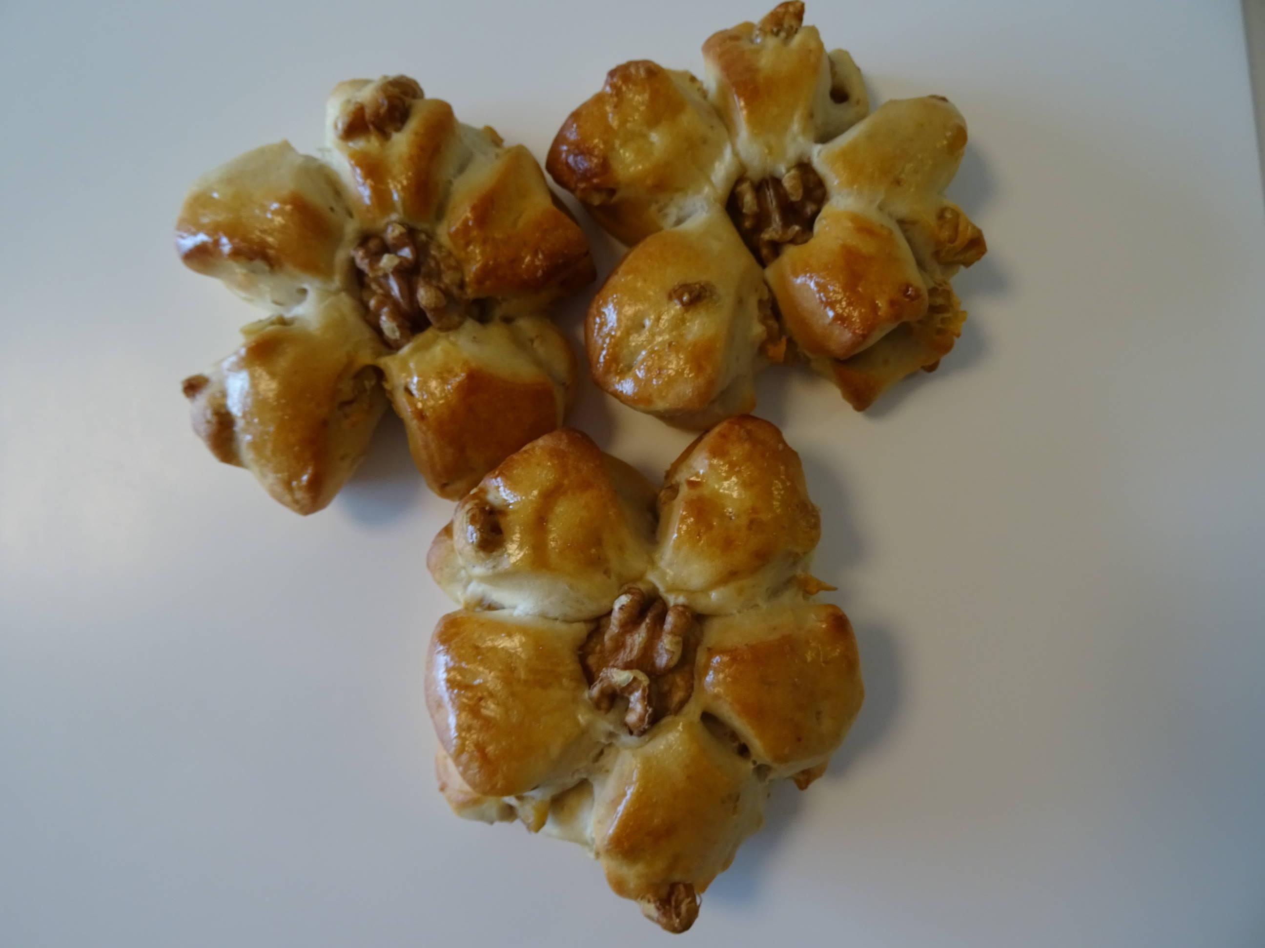 香ばしい胡桃パン2