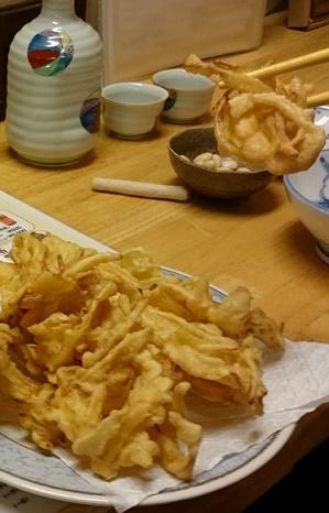 島らっきょう天ぷら