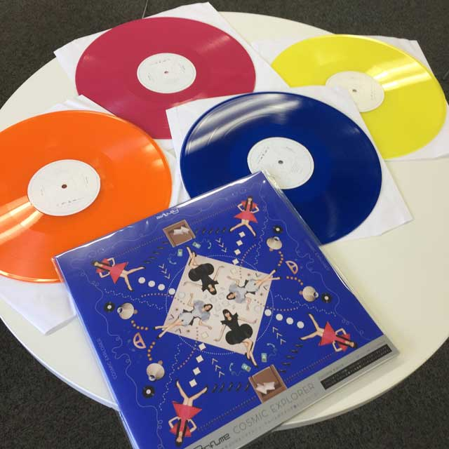Perfume Level30 「cosmic Explorer」アナログレコード Lp 盤面の色って