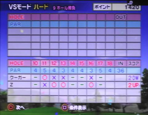 みんゴル4をプレイ 第18回 さくら山の裏Zに挑む (15)