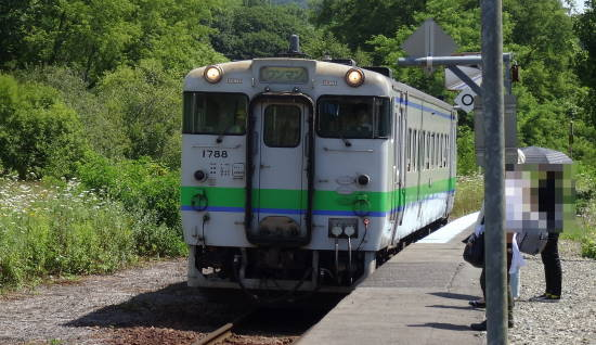 夕張 南空知 駅舎めぐり (17)