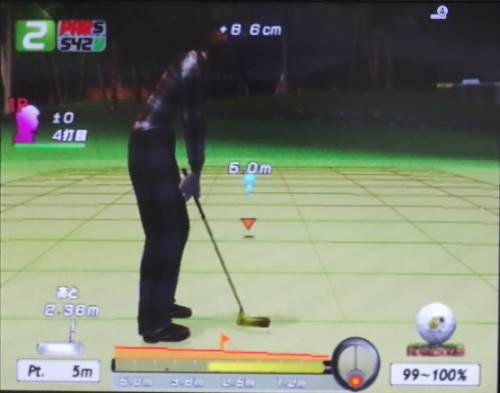 エンジョイゴルフ PS2 パット