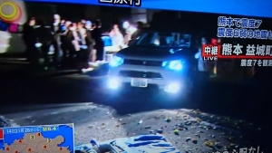 アウトランダーPHEV 熊本被災地で活躍